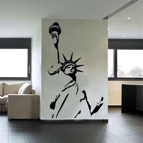 statue of liberty wall sticker statue of liberty wall sticker new york city symbolic