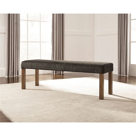 Ashley Furniture Dining Bench Ashley Signature Design Tamilo D714 00 Large Upholstered