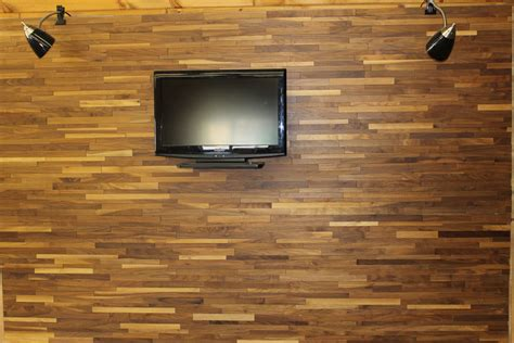 Wood Paneling   Rustic Hardwood Flooring
