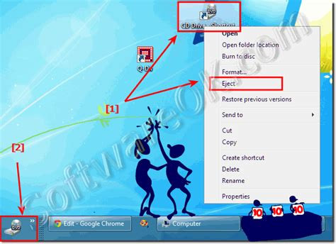 format dvd r disc windows 7 eject the cd or dvd drive via the desktop context menu or