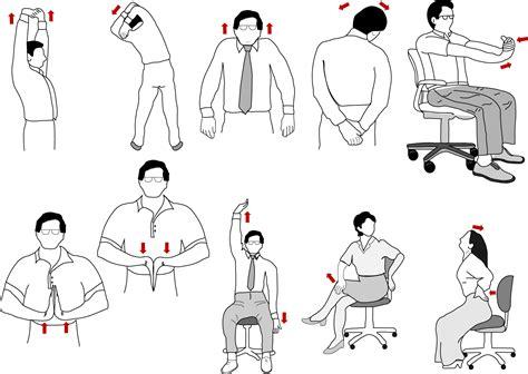 Office Desk Stretches Ergonomic Workstation Set Up Alive Wellness