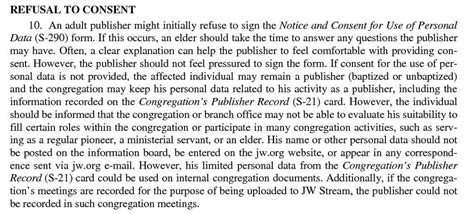 congregation publisher record card template gdpr to sign or not to sign that is the question
