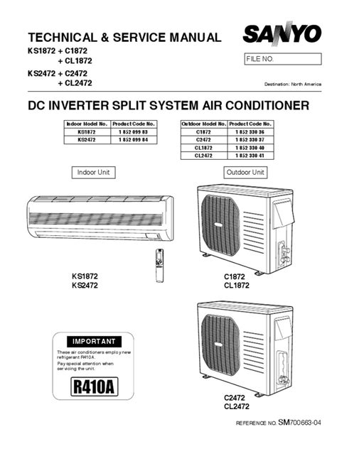sanyo split ac wiring diagram wiring diagram and schematics
