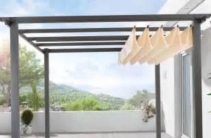 Diy Retractable Pergola Canopy by Retractable Canopy For Pergola Home Design Ideas