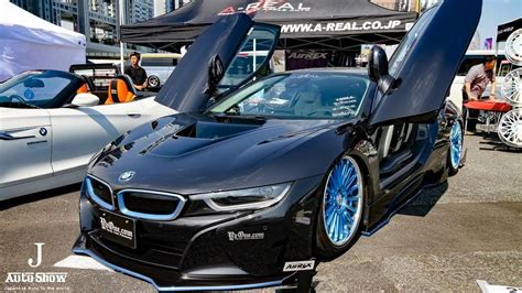 modified bmw i8 hd y zone bmw i8 modified スーパーカーニバル2017 お台場