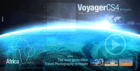 after effect template project after effects project videohive voyager 2004316