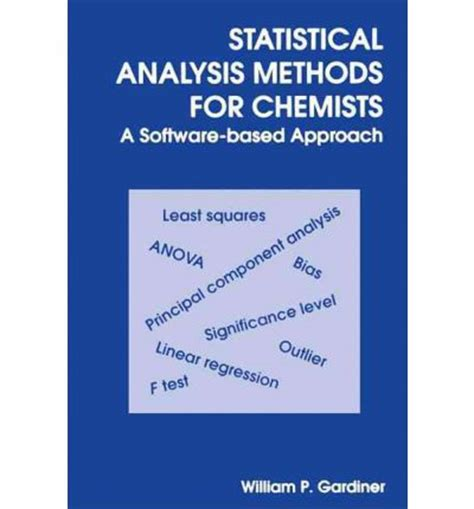 media analysis techniques books statistical analysis methods for chemists a software