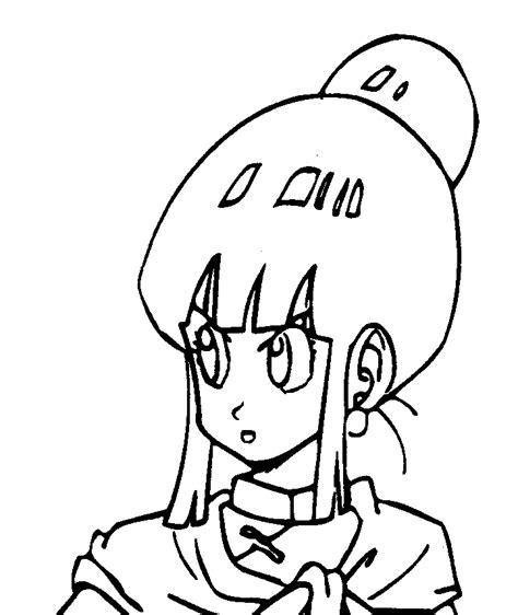 Mewarnai Gambar Chi Chi Dragon Ball