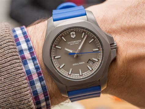 Victorinox Swiss Army INOX Titanium Watch Hands On   aBlogtoWatch