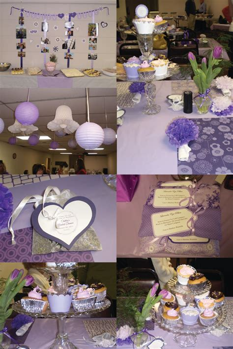 Purple Bridal Shower Decorations by The 2010 S A Royal Purple Bridal Shower