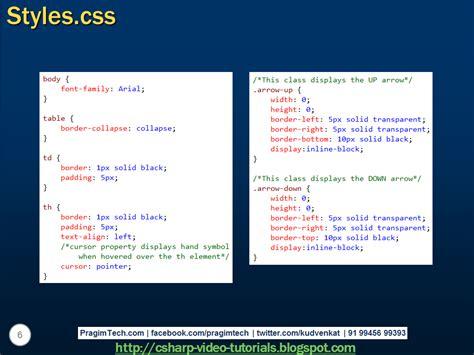 kumpulan tutorial javascript kumpulan tutorial belajar angularjs sort rows by table header