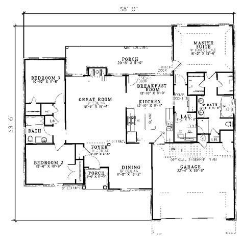 ranch house plans citadel traditional ranch home plan 055d 0055 house