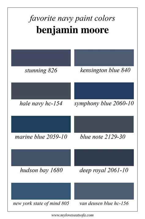 benjaminmoore colors de 25 bedste id 233 er inden for hale navy p 229 pinterest