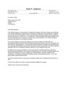 sles of resumes and cover letters farm sales cover letter sle resume cover letter