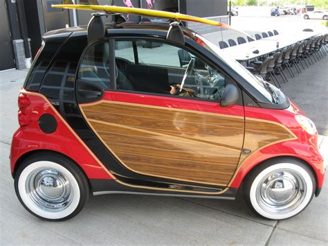 smart fortwo with steel wheels and white walls smart car