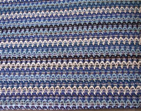 how to knit zig zag stripes blue zig zag stripe sweater knit fabric scrap pony