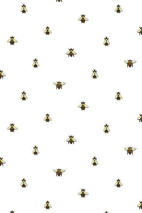 wallpaper with gold bees timorous beasties wallcoverings wild honey bee spot