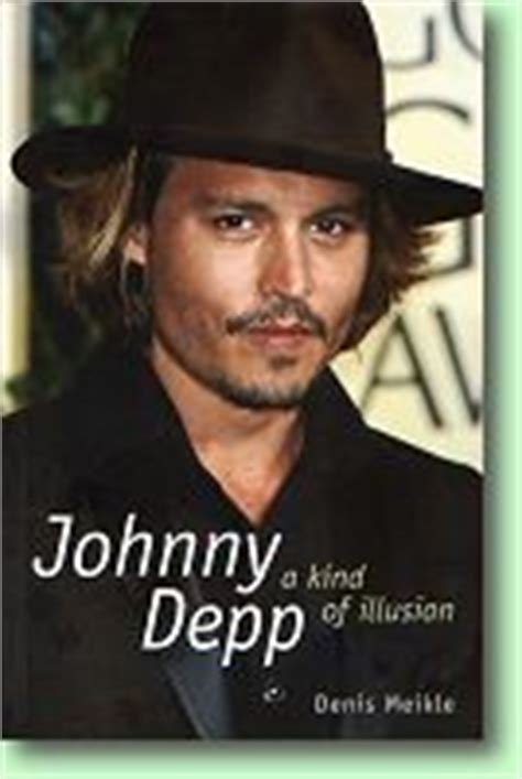 johnny depp the illustrated biography by nick johnstone rio s attic phoenix bookshelf