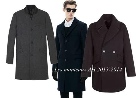 manteau homme a la mode hiver 2013