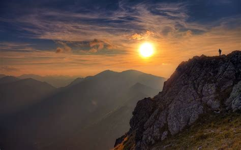 hike themes hd wallpapers sunset full hd wallpaper and background 1920x1200 id