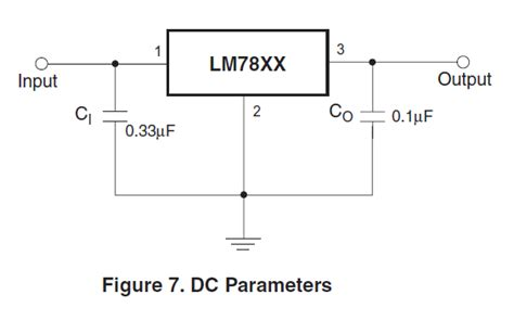 7805 large output capacitor voltage regulator does the output bypass capacitor of an lm7805 as a decoupling