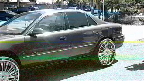 piefacepresentswhips 98 buick century on 24 dub spinners youtube