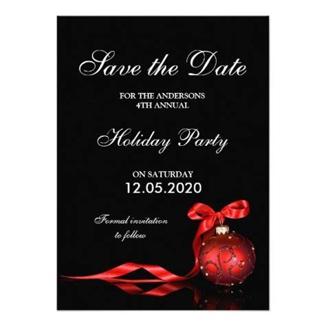 save the date holiday party free template save the date templates and save the date
