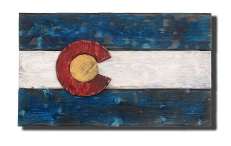 woodworking colorado 3d colorado flag distressed wood wooden vintage