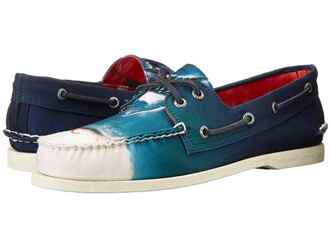 jaws boat shoes sperry top sider jaws a o boat shoe zappos free