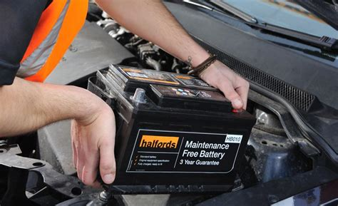 advice halfords car battery fitting service