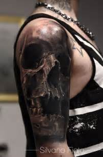 best 25 skull sleeve tattoos ideas that you will like on