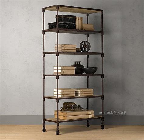 wrought iron bookshelves aliexpress buy country furniture wrought