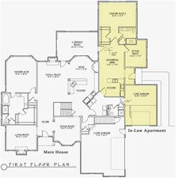 In Law Apartment House Plans by House Plans With Apartment Mother In Law Plans Plans Home