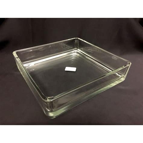 vaso vetro quadrato vaso vetro quadrato cm 24x24 h 5 5 assisi souvenir