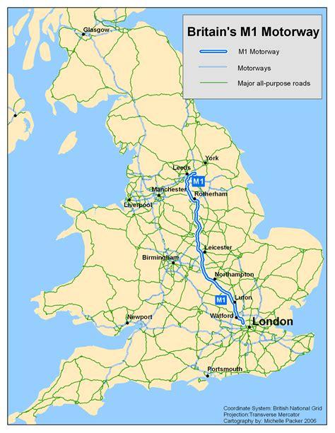 the motorpany file uk m1 motorway png