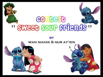 Home Sweet Home 1 2 Tamat contest sweet sour friends by wan niahix nur ayi en