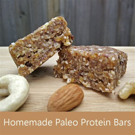 top protein bar recipes homemade paleo protein bar recipe fit and awesome