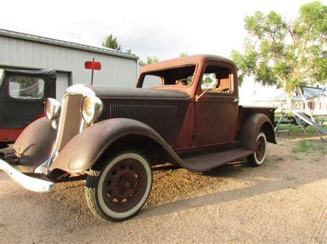 Bros Gold Pasiran Model 2 1935 dodge dodge brothers model kc 1 2 ton barn finds junk yard cars etc