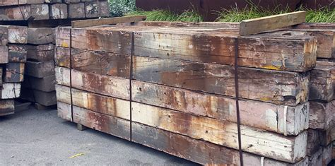 Untreated Landscape Timbers Sale Sleepers Bulleen Garden