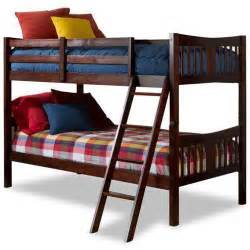 Bunk Bed In Walmart Storkcraft Caribou Bunk Bed Cherry Walmart
