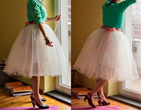 como hacer falda de ballet hacer una falda tutu ropa diy
