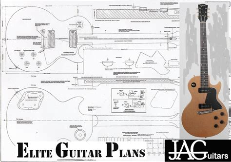 Les Paul Guitar Template les paul template printable invitation templates