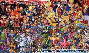 dbz characters dragonball anime picture