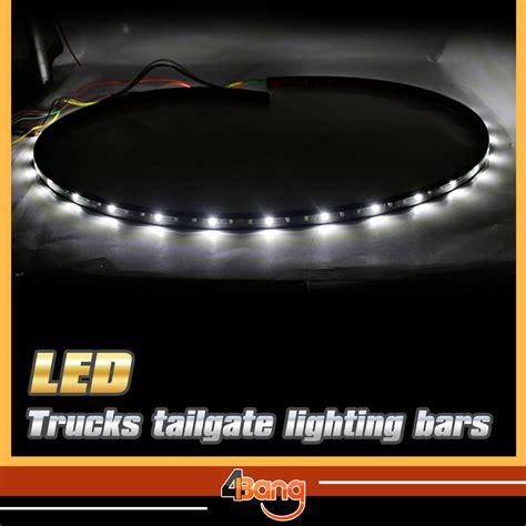 60 Quot Car Tailgate Red White Led Light Bar Backup Reverse White Led Light Bar