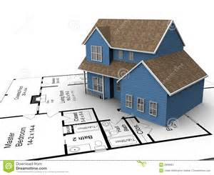 house plans to build new house plans stock images image 2838684