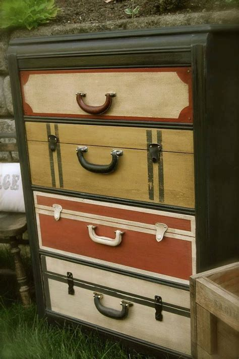 suitcase dresser 1000 images about dresser that looks like luggage on pinterest vintage suitcases set of