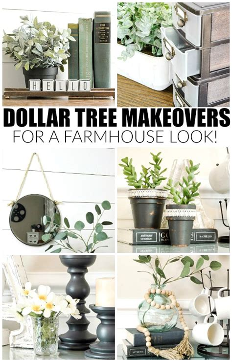 fun diy home decor ideas onyoustore com how to easily get the farmhouse look with dollar tree