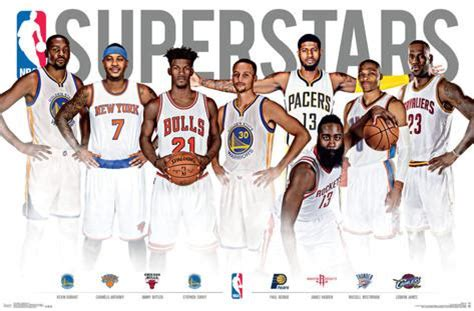 Wall Decorative Stickers nba superstars posters at allposters com
