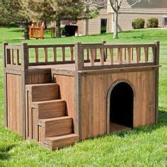 double story dog house two story dog house lucky dog creative ideas pinterest