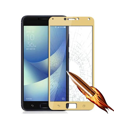 Tempered Glass Asus Zenfone 4 Max Zc554kl Anti Gores Kaca Clear naxtop tempered glass screen protector for asus zenfone 4 max pro 4 max zc554kl golden